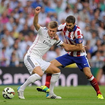 """Kroos: """"Si jugamos como hoy ganaremos muchos partidos"""""""