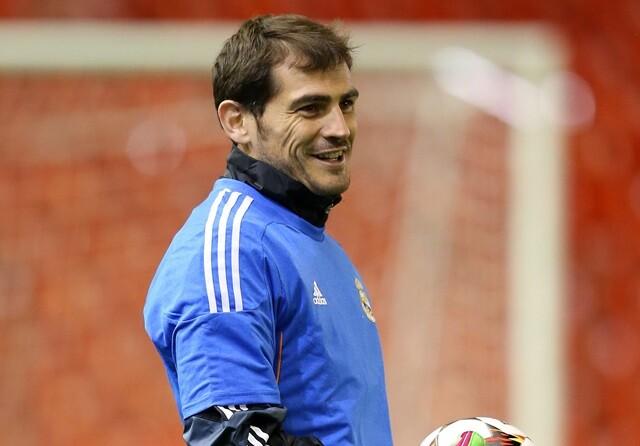 "Casillas: ""Ni he vuelto ni me he ido"""
