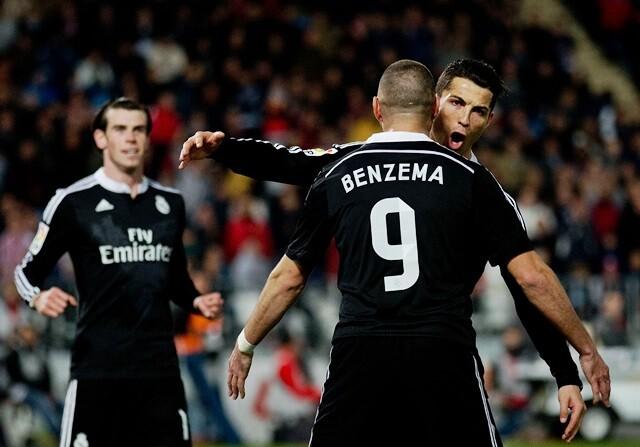 Récord de goles del Real Madrid en 2014