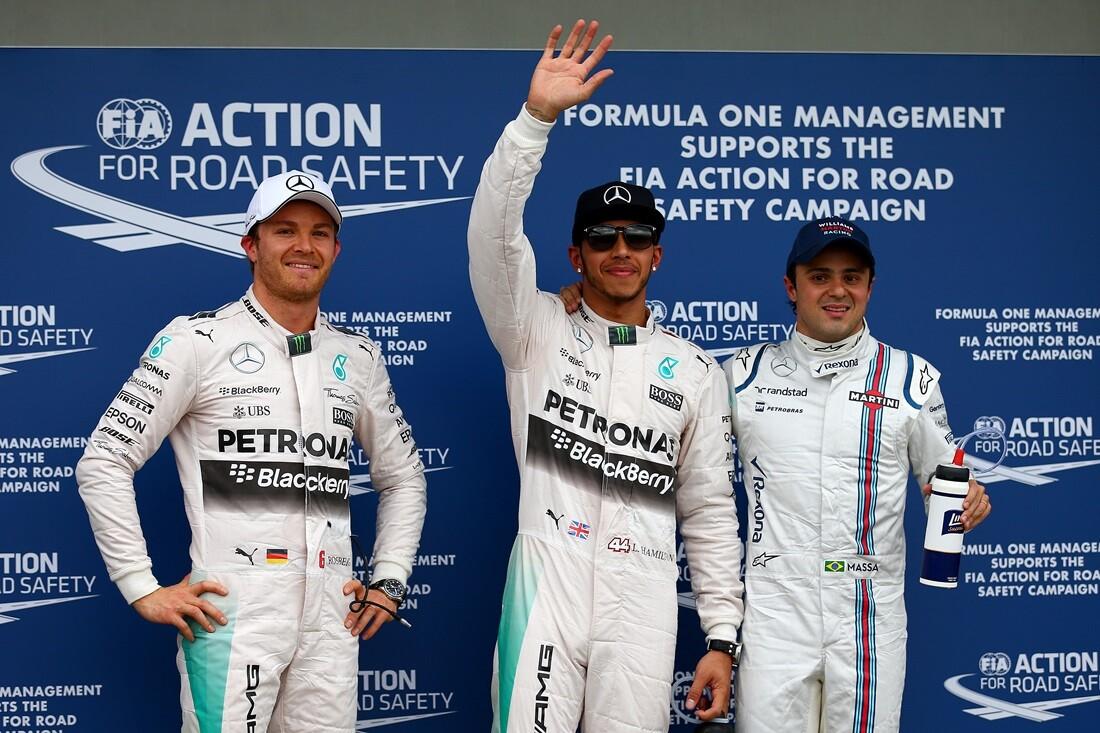 Parrilla del Gran Premio de Australia 2015