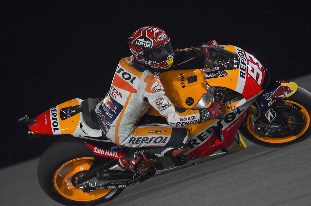 Márquez se carga la carrera de Bautista