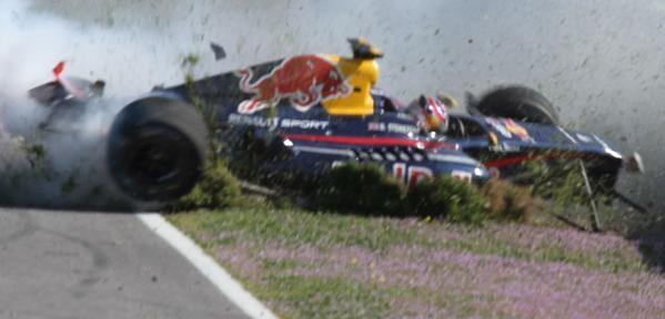 Brutal accidente de Dean Stoneman en Jerez