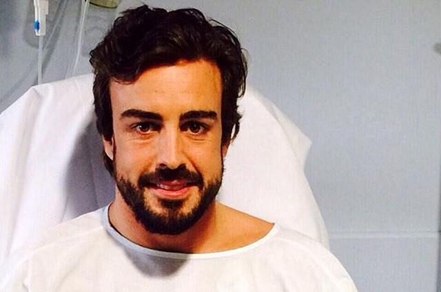 Un neurocirujano explica las posibles lesiones de Fernando Alonso