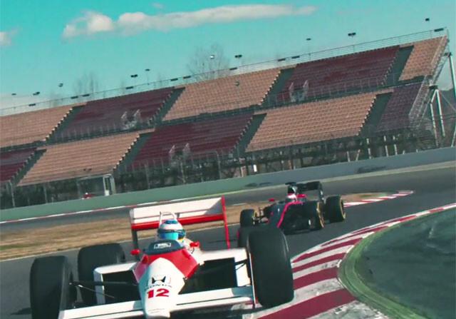 Fernando Alonso se sube al McLaren de Ayrton Senna