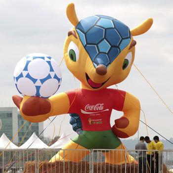 Fuleco, la mascota del Mundial 2014