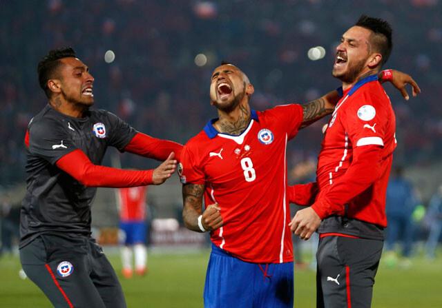 """Arturo Vidal: """"El pueblo chileno necesitaba un triunfo"""""""