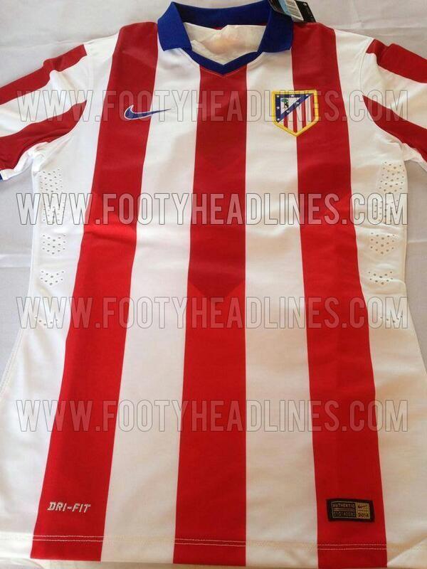 FOTO. La camiseta del Atlético de Madrid 2014 15