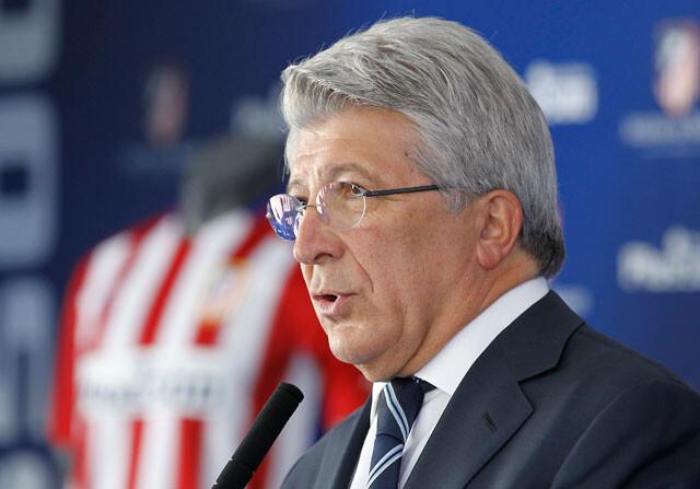 Enrique Cerezo, en una rueda de prensa