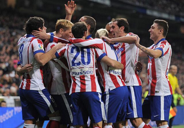Elige a los mejores del Atlético de Madrid en la primera vuelta