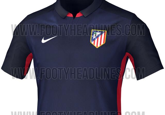 camiseta atletico de madrid 2016