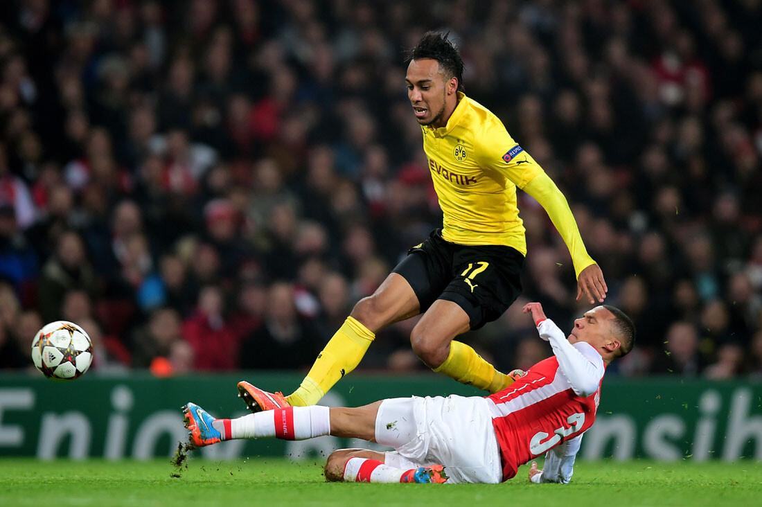 Aubameyang, del Borussia Dortmund