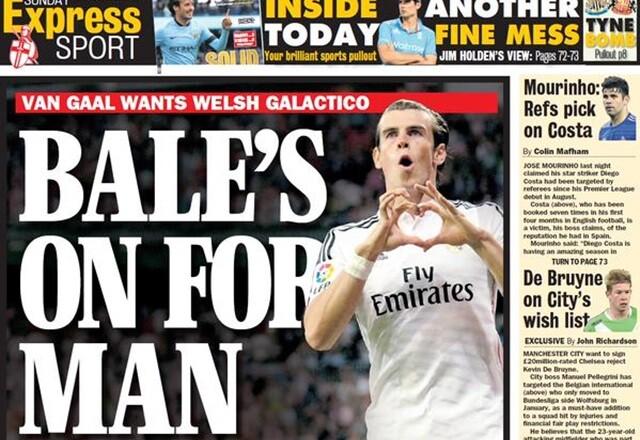 """Bale da """"luz verde"""" a su traspaso al United, según el 'Express'"""