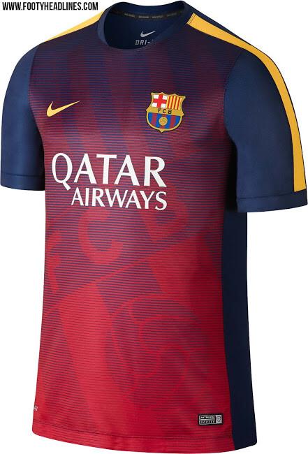 Camisetas de entrenamiento del FC Barcelona 2015-16 - SPORTYOU caf8f0dac38
