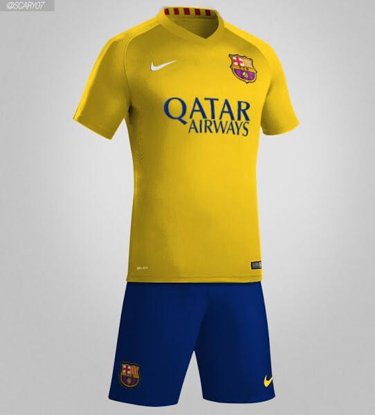 Nuevas fotos de las equipaciones del Barça 2015 16 - SPORTYOU 98ffdaa14fe
