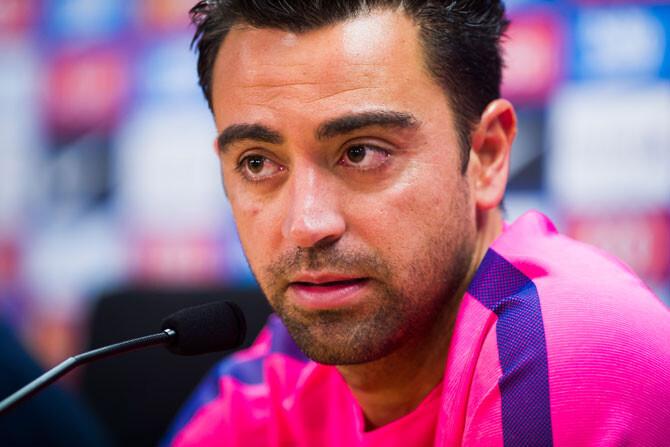 """Xavi: """"Ha llegado el momento de irme"""""""