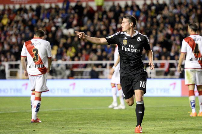 CR, James, Kroos bajas por tarjetas ante el Eibar; Modric, duda con un golpe
