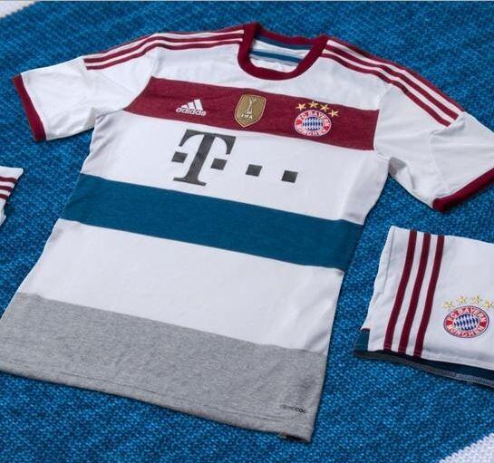 FOTO. Segunda equipación del Bayern 2014 15 57c69a211f49a