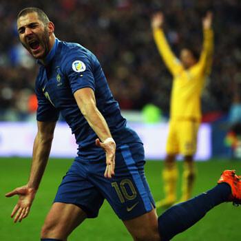 Francia culmina la remontada ante Ucrania