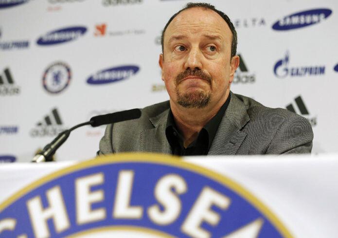Rafa Benítez, entrenador del Chelsea