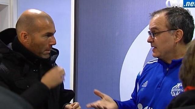La clase magistral de Bielsa a Zidane