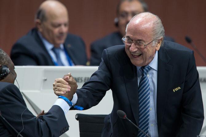Joseph Blatter, reelegido presidente de la FIFA