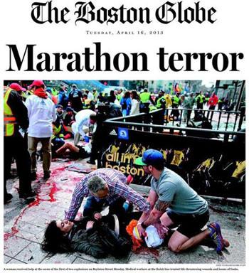 Las portadas de la prensa internacional tras el atentado en Boston