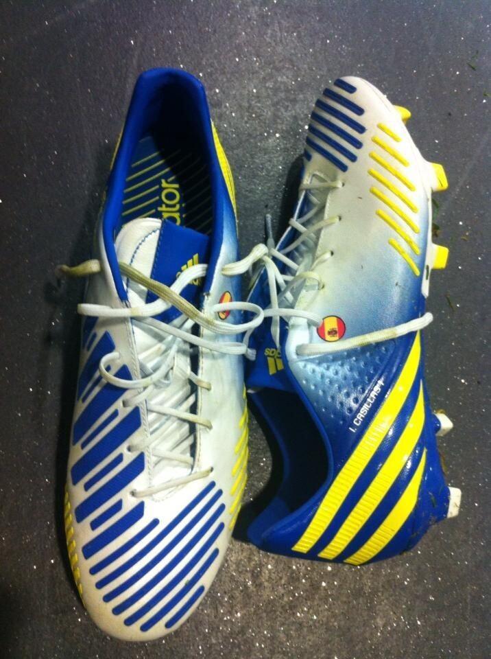 FOTO: Las nuevas botas de Casillas