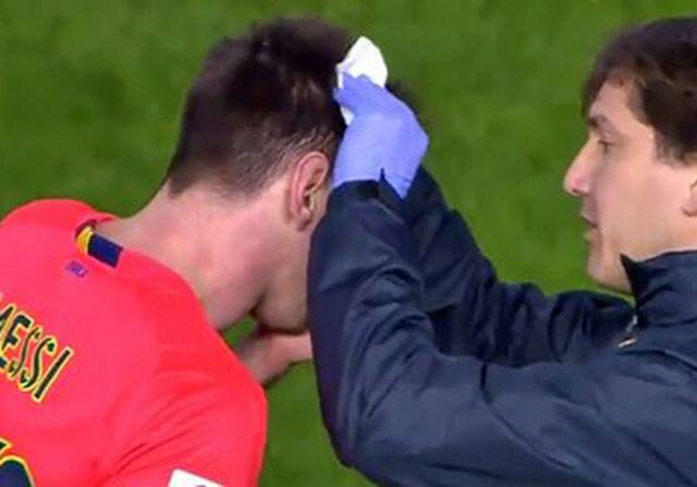 El Valencia expulsará al seguidor del botellazo a Messi