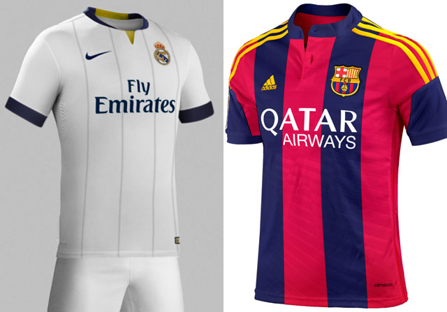 La camiseta del Barça diseñada por el Madrid y viceversa - SPORTYOU aeb8f4baef4