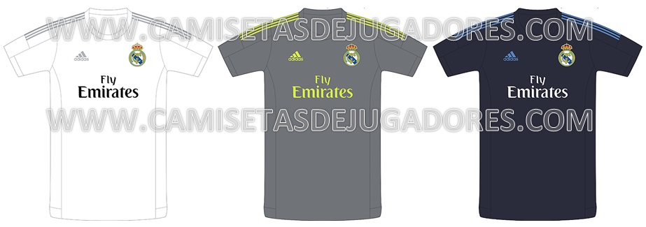 ¿Son estas las camisetas del Real Madrid 2015 16  1d8450a67de