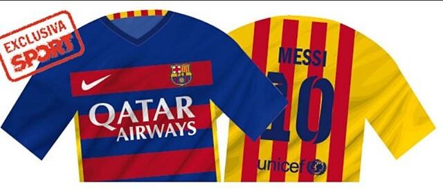 Las rompedoras camisetas del Barça 2015-16 - SPORTYOU c804d75e27e