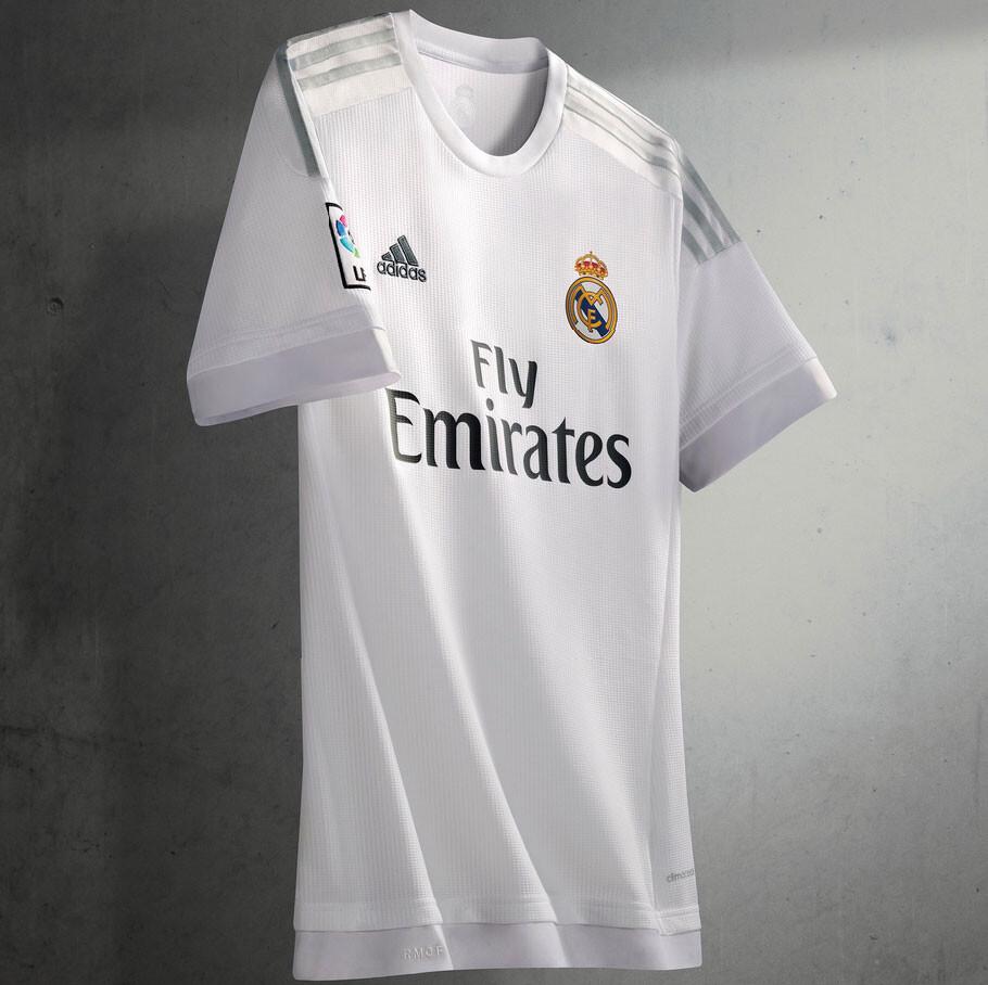 e5f059728c224 El Real Madrid presenta su camiseta 2015 16