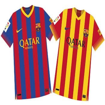 Así serán las nuevas camisetas del barça sportyou jpg 350x350 Camisetas del  barca 17d81a412771b