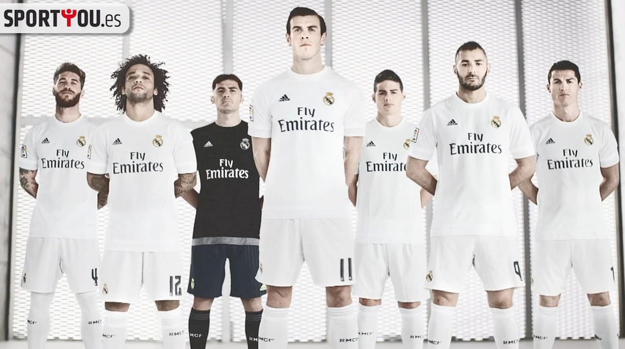 La nueva camiseta del Real Madrid para la temporada 2015 2016 - SPORTYOU 83639a2ac487a