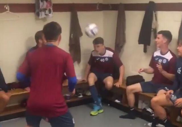 El impresionante desafío de los jugadores del St Johnstone FC escocés