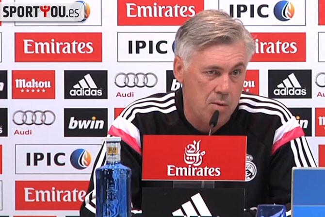Ancelotti admite la gravedad de la lesión de Modric
