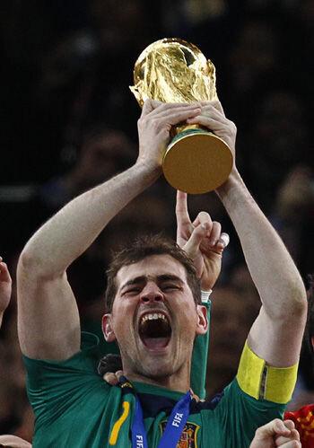 Mis diez momentos del Mundial por Elias Israel Casillas-copa