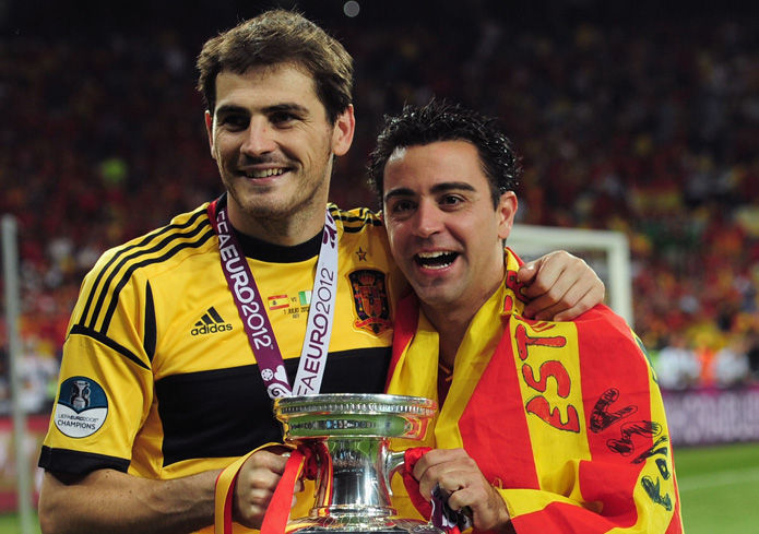 Iker Casillas y Xavi Hernández, ganadores del Príncipe de Asturias de los Deportes 2012