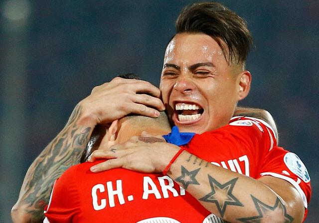 Vargas mete a Chile en su final de la Copa América