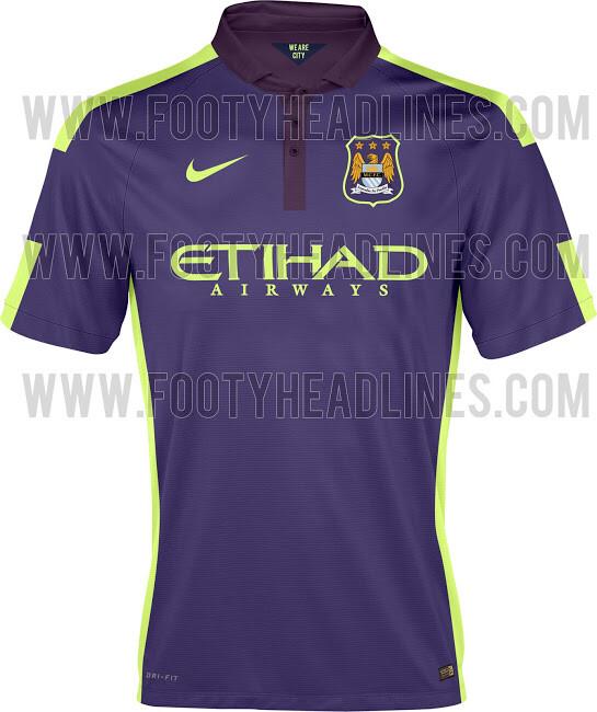 FOTO. Tercera equipación del Manchester City 2014 15 e098fa432acb3
