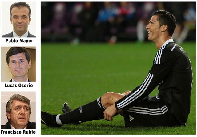 Cristiano Ronaldo, en manos de tres abogados del Estado