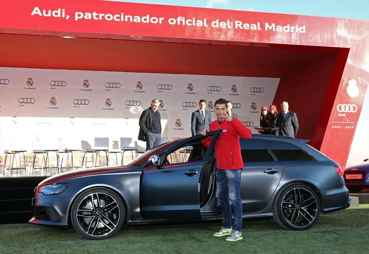 La impresionante colección de coches de Cristiano Ronaldo