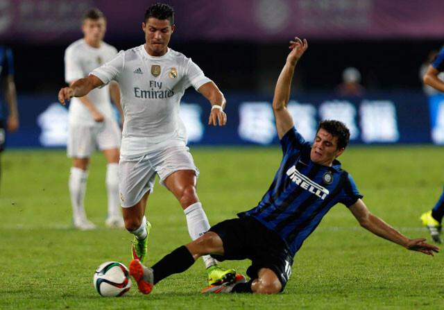 Cómoda victoria del Real Madrid al Inter (0-3)