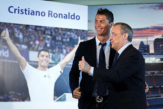 Florentino, dispuesto a vender a Cristiano