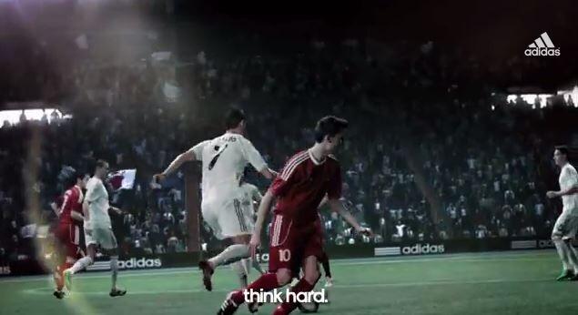 """Cristiano Ronaldo """"se cuela"""" en el nuevo anuncio de adid"""