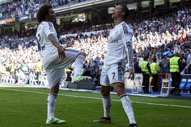 La afición del Real Madrid prefiere a Marcelo como capitán antes que a Cristiano