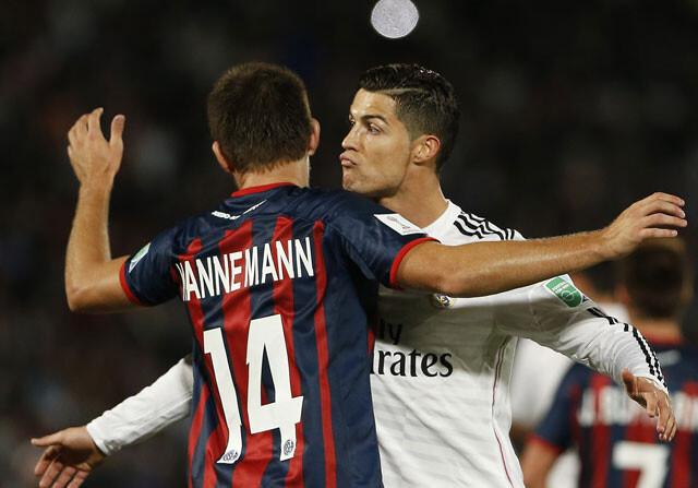 La llamativa seriedad de Cristiano Ronaldo