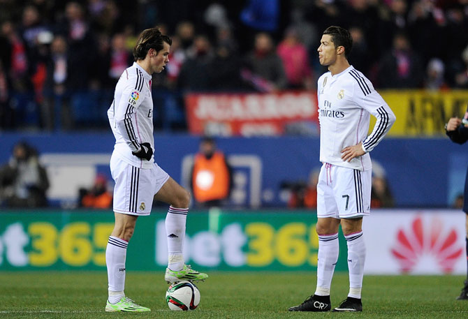 Se abre la brecha entre Cristiano Ronaldo y Bale
