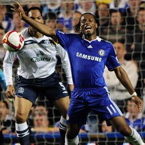 Didier Drogba, en el Chelsea