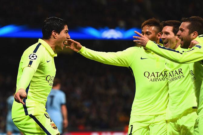 Dentellada del Barcelona al Manchester City
